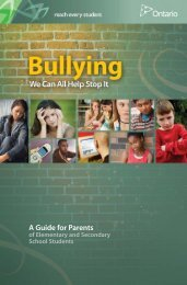 Bullying We Can All Help Stop It: A Guide for Parents of Elementary ...