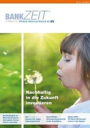 Nr. 9 ZEIT - VR-Bank Westmünsterland eG