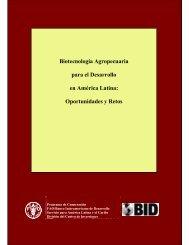 Biotecnología Agropecuaria para el Desarrollo en ... - LAC Biosafety