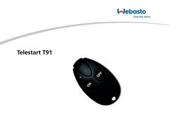 Telestart T91 - Webasto
