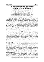 application of resonant converter in ozone generator ... - TELKOMNIKA