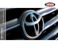 Toyota Certified Used Vehicles - CarSoup.com