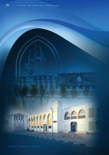 MZC College Handbook 2012-2013 - Higher Colleges of Technology