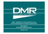 DMR – als Medium zur Kommunikation im itcs ... - Itcs-info.de