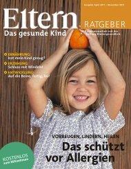 das schützt vor Allergien - Eltern.de