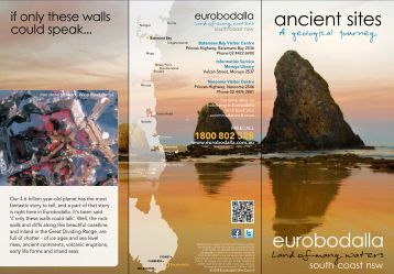Ancient Geological Sites in Eurobodalla 3.1 MB PDF