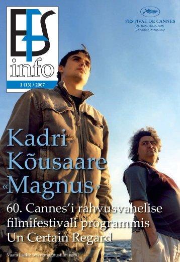 EFS infol 1_2007 - Eesti Filmi Sihtasutus