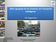 Sistemas Transporte Inteligentes de ITS Argentina - Clean Air Institute