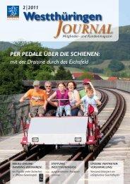 Ausgabe 02/2011 - VR Bank Westthüringen eG