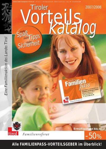 Tiroler Tiroler - Tirol - Familienpass