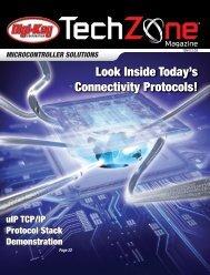 Microcontroller Solutions TechZone Magazine, April 2011 - Digikey