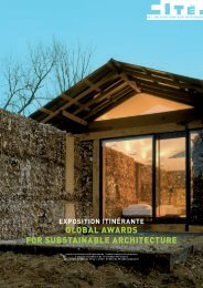 global awards for substainable architecture - Maison de l ...