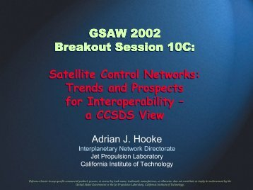 a CCSDS View