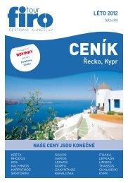 Řecko, Kypr - FIRO-tour, a.s.
