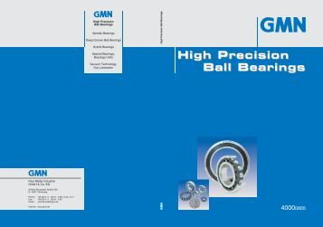 High Precision Ball Bearings - Kraftmek