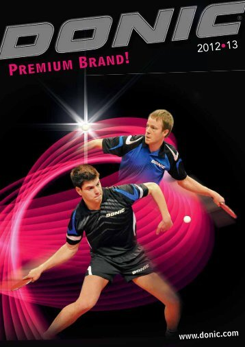 Donic Catalogue - Delux Sports International