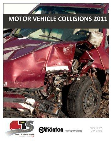 Motor Vehicle Collisions 2011 - City of Edmonton