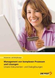 Management von komplexen Prozessen und Lösungen Unsere ...