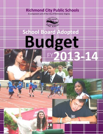 FY2013-2014 School Board Adopted Budget - Richmond Public ...