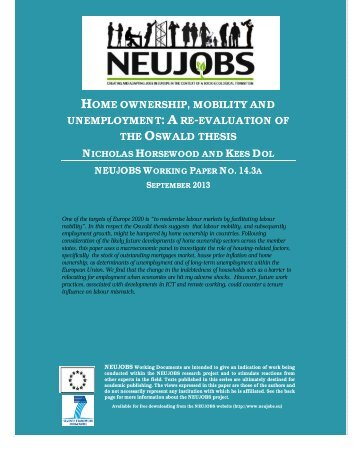 NEUJOBS 14 3a Home ownership and Unemployment _final_.pdf