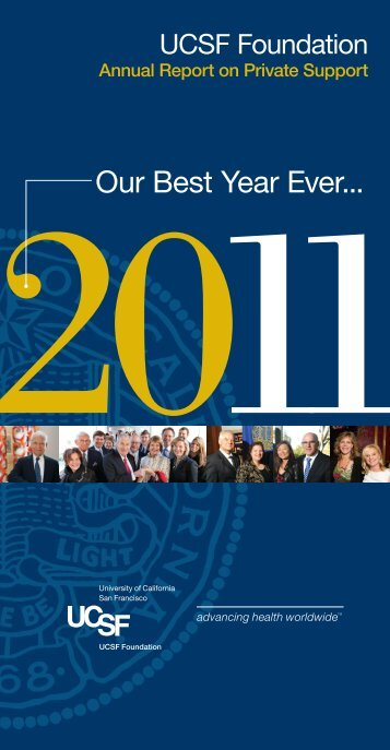 Foundation Annual Report - Support UCSF