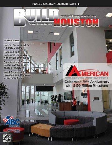 Build Houston Magazine • August / September 2013 1 www ...