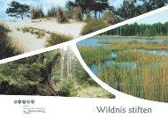 Wildnis stiften - Stiftung Naturlandschaften Brandenburg