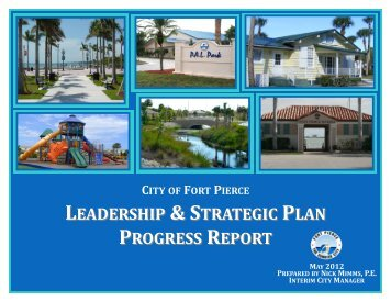 policy agenda – top priority - City of Fort Pierce