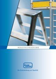 Aluminiumleitern - Iller-Leiter