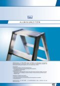 Aluminiumleitern - Iller-Leiter - Seite 5