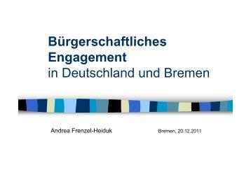 Bürgerschaftliches Engagement (pdf, 1.9 MB) - Ausschuss für ...