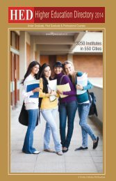 HED-Higher Education Directory 2014
