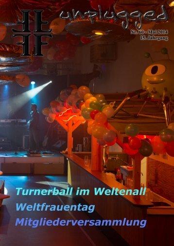 TGS-Somborn Unplugged Nr. 60 - Mai 2014 16. Jahrgang