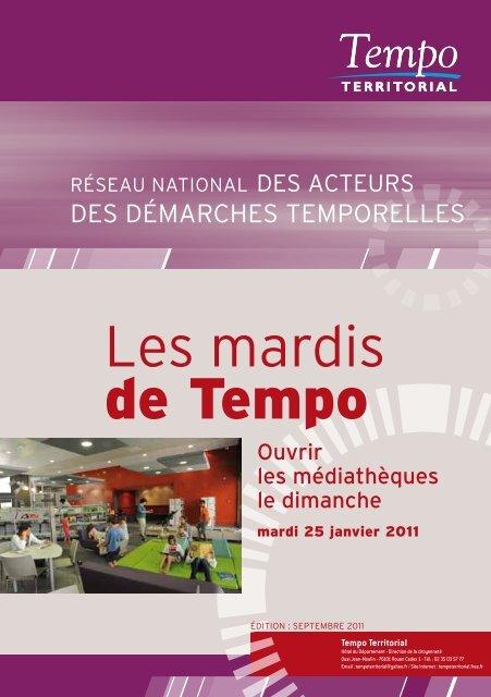 les mardis de Tempo - Arald