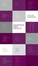 UNIVERSIDAD DIEGO PORTALES GUÍA DE EXPERTOS