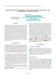 Real-time 3D finite-difference time-domain simulation of low - DAFx-10