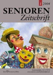Die gesamte Ausgabe 1/2004 als pdf-Datei - Senioren Zeitschrift ...