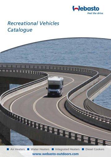 Recreational Vehicles Catalogue - Webasto
