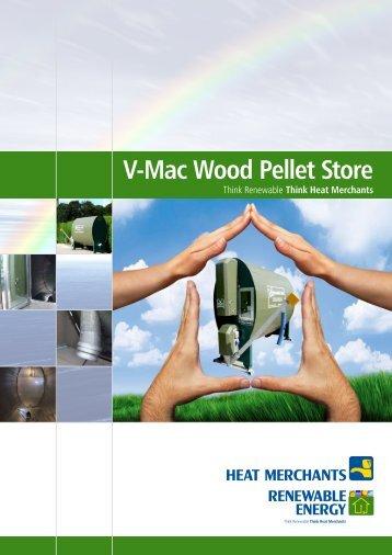 V-Mac Wood Pellet Store - Heat Merchants