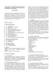 Studienordnung für den Bachelorstudiengang ... - Institut für Chemie