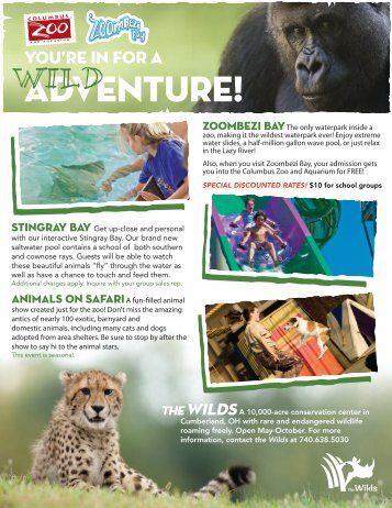 Columbus Zoo & Aquarium Profile - Ohio Has It!