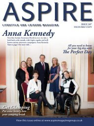 Anna Kennedy - Aspire Magazine