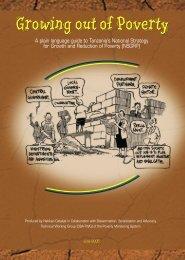 MKUKUTA Popular English - Poverty Monitoring