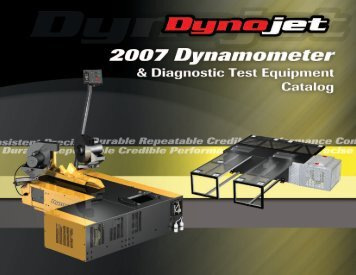 2 5 0 i - Dynojet Research