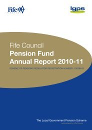 Fife Council Pension Fund Annual Report 2010-11 - Home Page