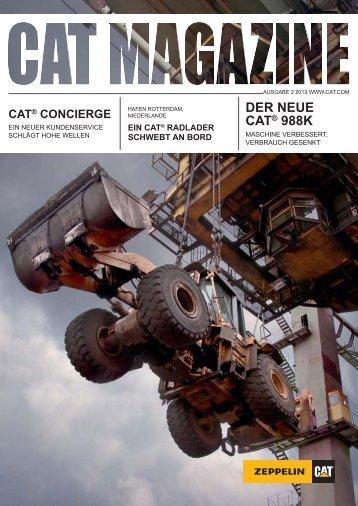 Cat Magazin 2/2013 - Zeppelin Österreich GmbH