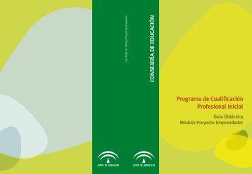 Guía didáctica del Módulo Proyecto Emprendedor - CPR Ceuta