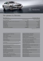 The epitome of a Mercedes - Mercedes-Benz Malaysia