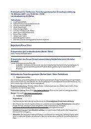 Protokoll des 6. Treffens (pdf-Datei, 36KB) - Österreichisches Institut ...