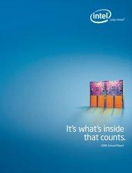 Intel 2006 Annual Report